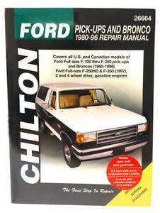 chilton books 26664 repair manual ford f150 f250 f350 super duty rh ebay com 2004 ford f350 repair manual free download 2011 f350 repair manual