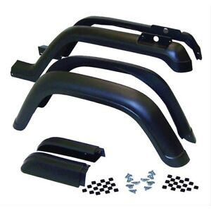 Crown 5AHK6 - 6 Piece Fender Flare Kit for 87-95 Jeep Wrangler YJ