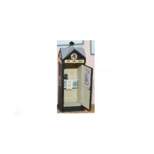 - Unpainted OO Scale AA Telephone Box Langley F205