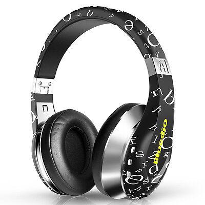 Bluedio A (Air) Bluetooth Kopfhörer Wireless Headphones kabelos 3D Sound Schwarz