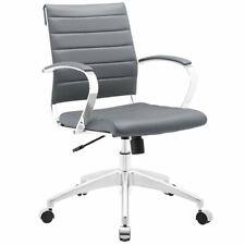 Scranton Amp Co Modern Mid Back Office Chair In Gray