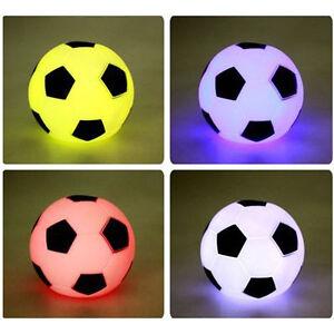 Mehrfarbig-Fussball-LED-Licht-Nacht-Lampe-Weihnachten-Party-Kind-Geschenk-LP