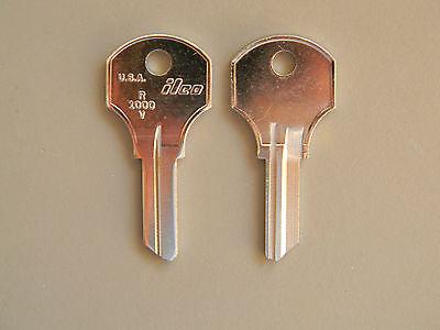 2 CO27 or R1000V Kennedy Toolbox Keyblanks
