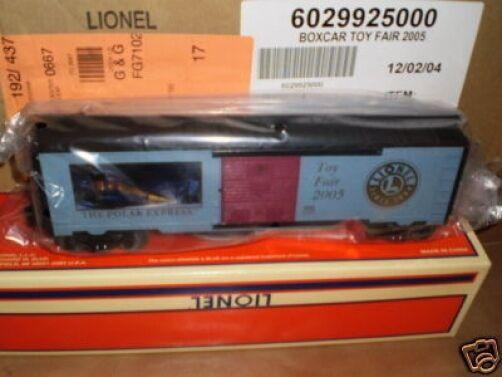 LIONEL 29925 RARE POLAR EXPRESS TOY FAIR CAR 2005- MINT- S1
