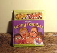Magnetic Funny Families Activity Book Sealed