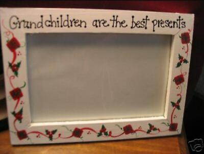 Grandchildren Best Presents Christmas Gift Grandma Grammy Photo Picture Frame Ebay