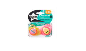 Tommee Tippee Any Time Soothers 6-18m Girl