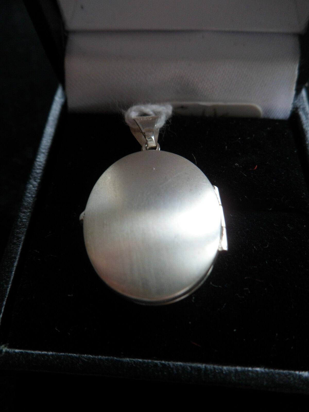 Piccolo Medaglione Ciondolo Charm argentoo decorativo per per per contenere 2 foto de0e21