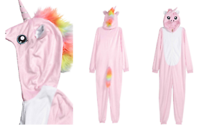 en venta venta de liquidación diseño elegante Detalles de H&M Mascarada Unicornio Todo en Uno Mono onesiey Pijamas Fancy  Dress Costume- ver título original
