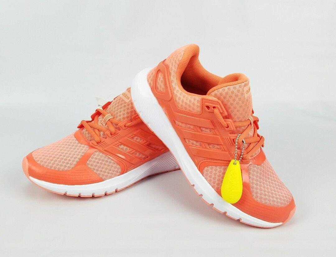 Adidas Duramo 8 W CP8755 Orange White Cloudfoam Running Shoes Size 6 New w/Tags