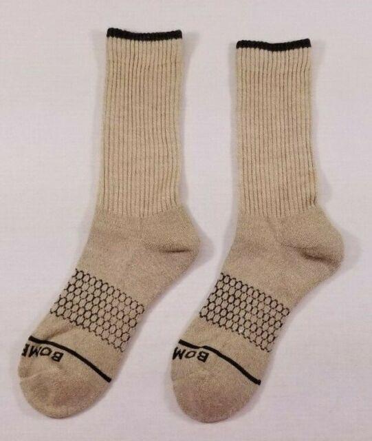 NEW Women's BOMBAS Merino Wool Calf Sock ~ Size: Medium Color: Oatmeal (Tan)