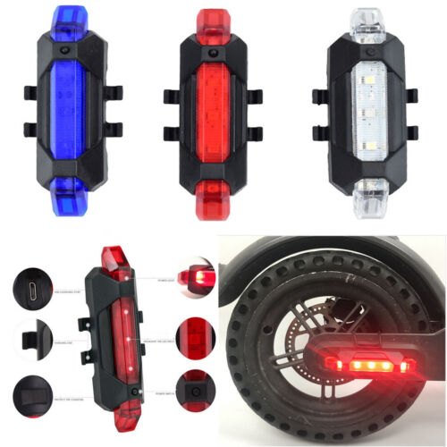 For Xiaomi Mijia M365 Warning Night LED Flashlight Lamp Electric Scooter Parts