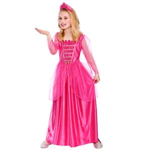 2804b6b38 Image is loading Childs-Darling-Princess-Fancy-Dress-Costume-Girls-Pink-