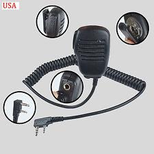 Speaker Microphone mic For Kenwood TK2312 TK3312 TK2360 TK3360 Portable Radio