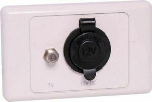 L1036 Antenna and Power Wall Plate Caravan