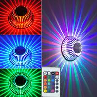 Deckenlampe Led Farbwechsel Deckenleuchte+fernbedienung Wohnzimmer Alu Leuchte
