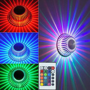 Das Bild Wird Geladen Deckenlampe LED Farbwechsel  Deckenleuchte Fernbedienung Wohnzimmer Alu Leuchte