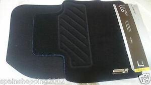 4 tapis de sol textile renault sport gt clio iv 4 2012 2017 original 8201657956 ebay. Black Bedroom Furniture Sets. Home Design Ideas