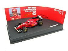 Ferrari f1 f310 m schumacher 1996 ed 87 no 3 campeón mundial MSC 510968701 1/87 OVP