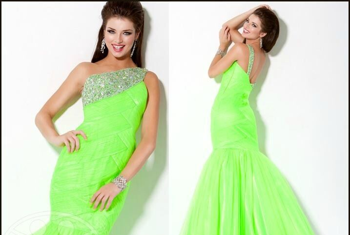 Jovani orange Iridescent Rhinestones Fitted Mermaid Prom Dress Sz 4 NWT
