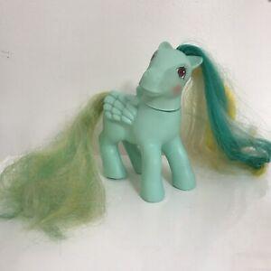 Confiant Mon Petit Poney My Little Pony Braided Beauty Natty - 1985 Made In Hong Kong Activation De La Circulation Sanguine Et Renforcement Des Nerfs Et Des Os