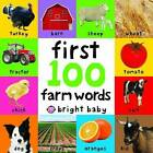 First 100 Farm Words by Roger Priddy (Board book, 2008)