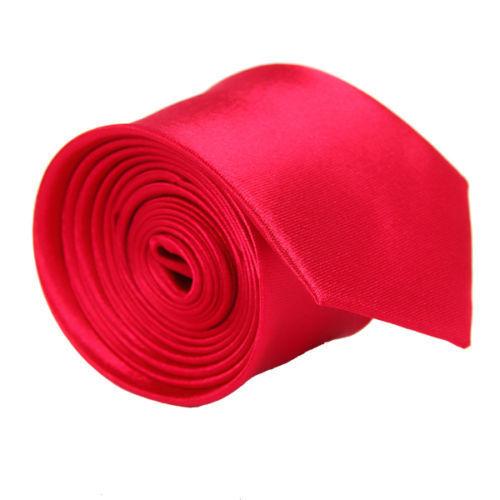 Casual Slim Plain Mens Solid Color Skinny Neck Party wedding Tie Necktie