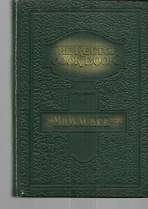 The Rector Cook Book Compliments Milwaukee Road Railroad Cookbook Famous Recipes