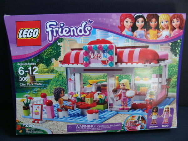 NEW LEGO Friends City Park CAFE 3061 Restaurant Kitchen Mini Dolls Andrea Marie