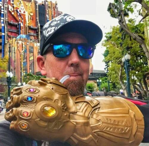 Thanos Endgame Gauntlet Glove Cup Infinity War The Avengers Cosplay Cup