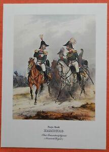 Le Colonel Freye Ville De Hambourg Hanseatische Brigade Uniforme Monten Pierre Pression 1978-afficher Le Titre D'origine