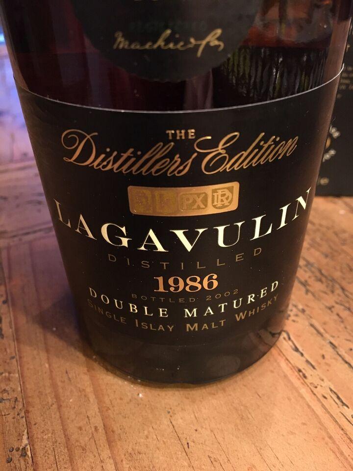 Spiritus, Lagavulin Distillers Edition 1986