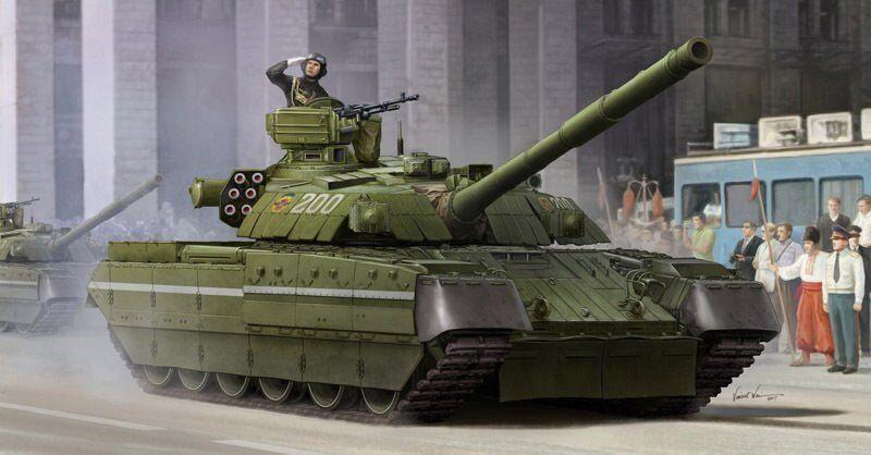 Trompete 09511 35 Ukraine T-84 Kampfpanzer