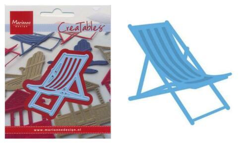 Méth-stanzschablone plage beach maritime vacances glace Marianne Design Creatables