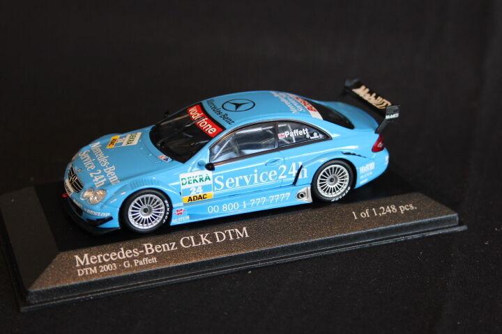 Minichamps Mercedes-Benz CLK-DTM 2003 1 43 Garry Paffett (GBR) (JS)