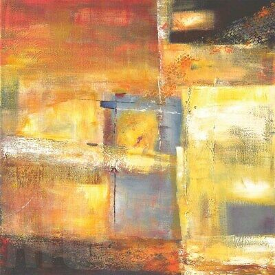 "39/""x39/"" COLORFIELD I by BEA DANCKAERT SUMMER WARMTH CANVAS"