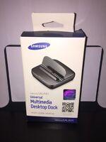 Genuine Sealed Samsung Galaxy Universal Multimedia Desktop Dock Edd-d200begsta