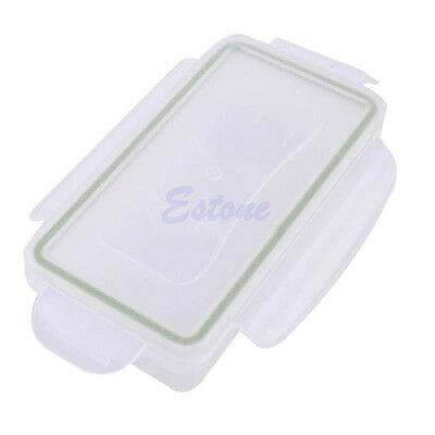 Hard Waterproof Plastic Case Battery Holder Storage Box Fr 18650 CR123A Battery