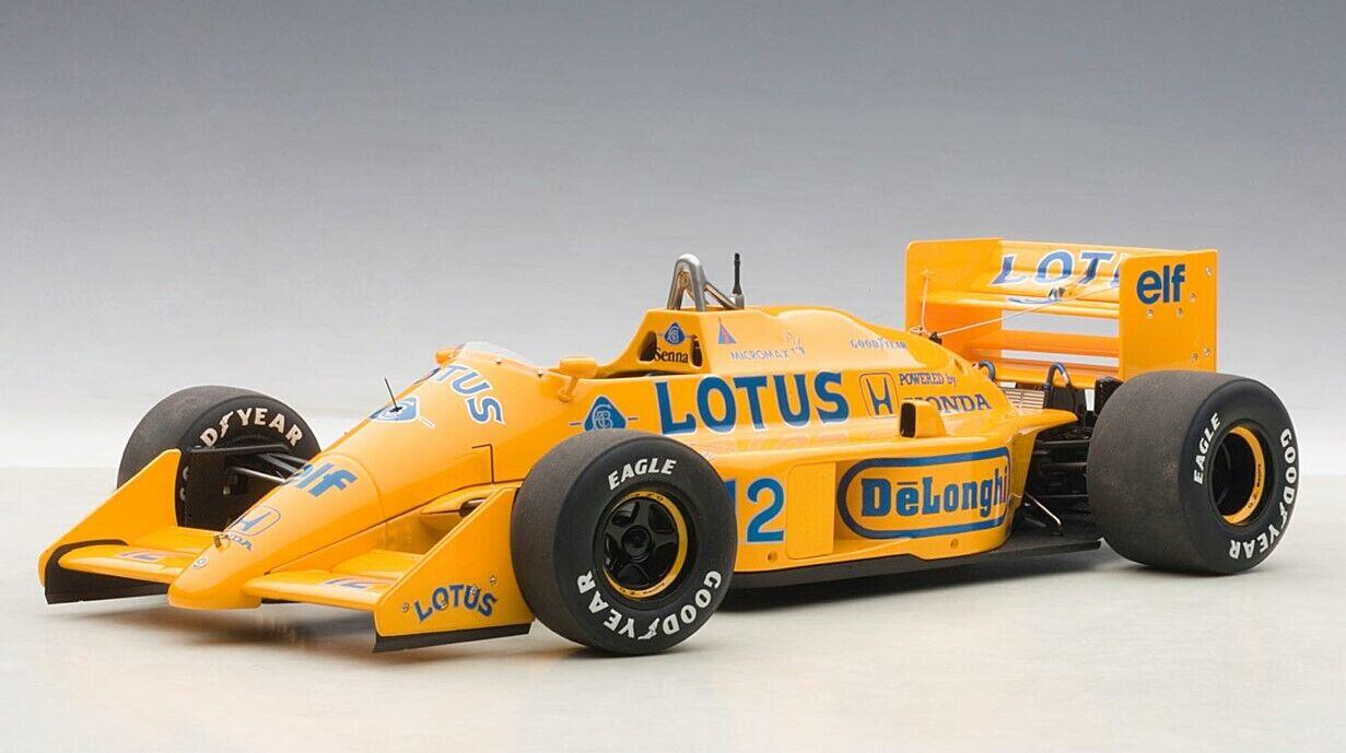 88727 AUTOart 1 18 Lotus 99T Honda F1 Japan GP 1987  12 Ayrton Senna