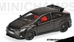 FORD FOCUS RS 500 pcs 2008 MINICHAMPS 877088100 MATT BLACK L.E