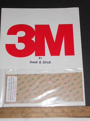 "3M 5915 BLACK VHB .016/""DOUBLE STICK FOAM TAPE 8/"" X 12/"" SHEETS GOPRO MOUNT 3"