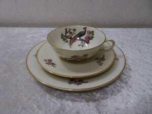H-amp-Co-Heinrich-Design-Porcelaine-Couvert-Collection-Vintage-Fleurs