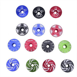 Bike-Bicycle-Stem-Cover-Bicycle-Headset-Top-Cap-Cover-28-6mm-Fork-Top-Cover-V-YK