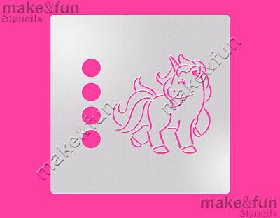Torten Schablonen Vivid And Great In Style Pony Stencil Efficient Pyo Cookie Stencil Unicorn Cake Stencil