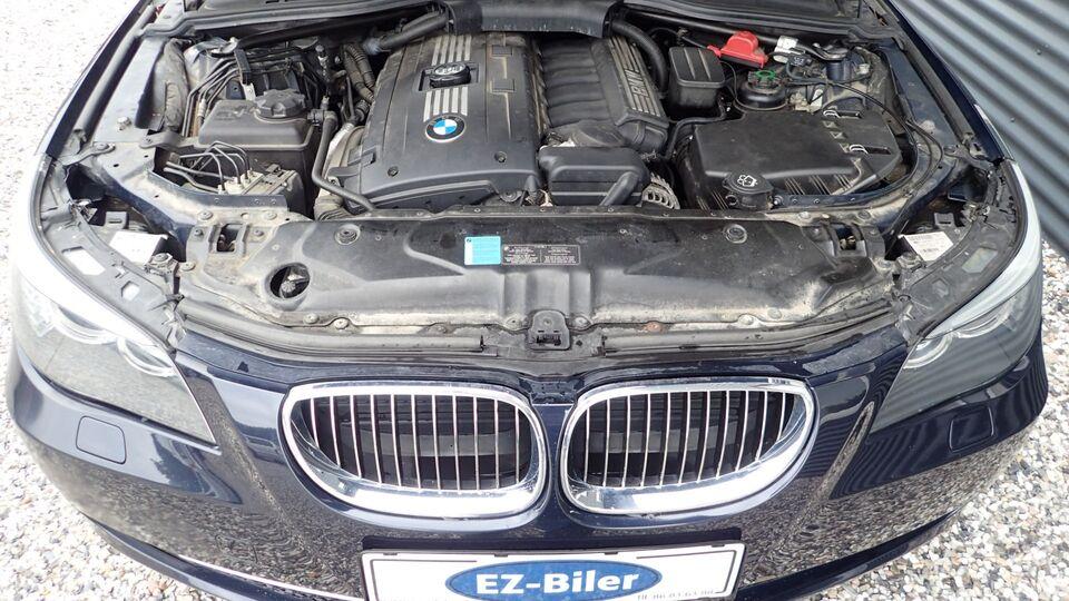 BMW 525i 3,0 Steptr. Benzin aut. Automatgear modelår 2008