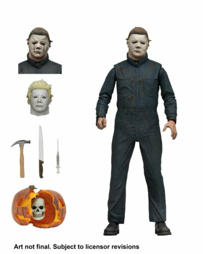 """NECA Halloween 2 Michael Myers Ultimate 7/"""" Action Figure 1981 Movie Collection @"""