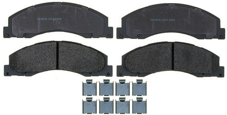 ACDelco 14D368M Advantage Semi-Metallic Front Disc Brake Pad Set with Wear Sensor