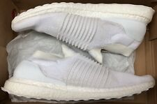 7832d8d436a adidas Ultra Boost UltraBoost Laceless Mid Triple White S80768 Sz 13