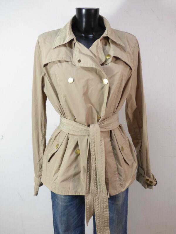 Armani Jeans Damen Jacke Gr 42 - De / Hell Beige Trend Mit Gürtel ( Q 7132 ) Die Nieren NäHren Und Rheuma Lindern