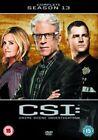 CSI Vegas Complete Season 13 DVD Region 2 Discs 5 Drama Gift UK SELLER